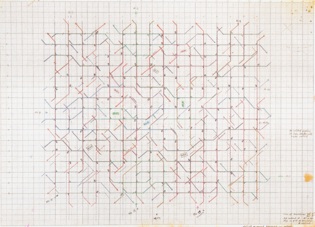 , 'Breakdown (Diagram),' 1971, Johannes Vogt Gallery