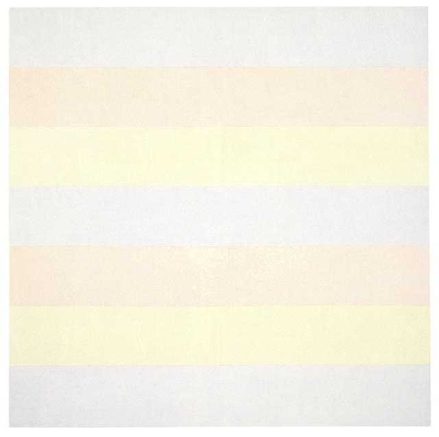 Agnes Martin, 'Untitled #5', 1998, Guggenheim Museum