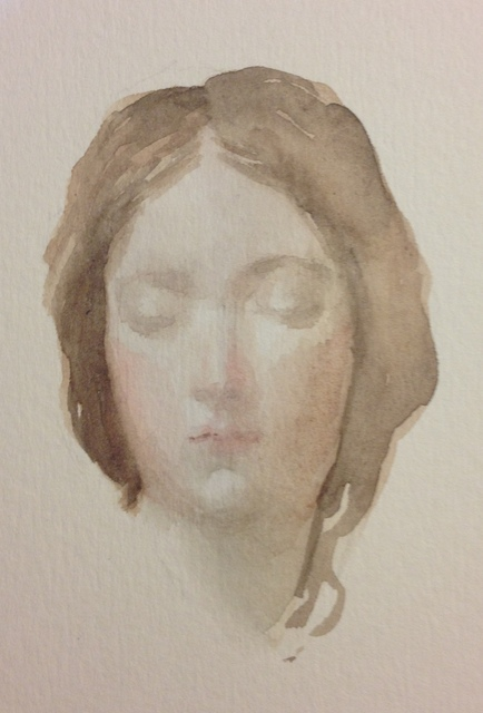 Carmen chofre García, 'Head (after Velezquez)', 2017, PontArte