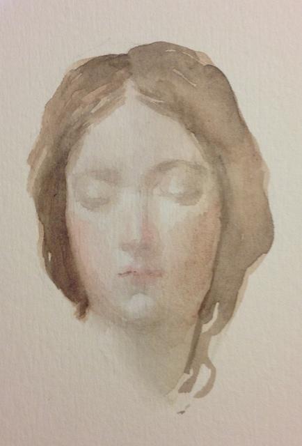 , 'Head (after Velezquez),' 2017, PontArte