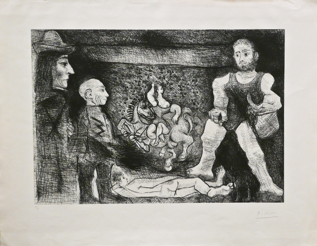 Pablo Picasso, 'Picasso, son oeuvre, et son Public', 1968, John Szoke