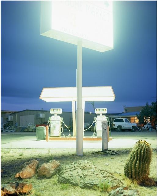 ", 'Apache, Arizona, from the series ""700 miles"",' 2008, Christophe Guye Galerie"