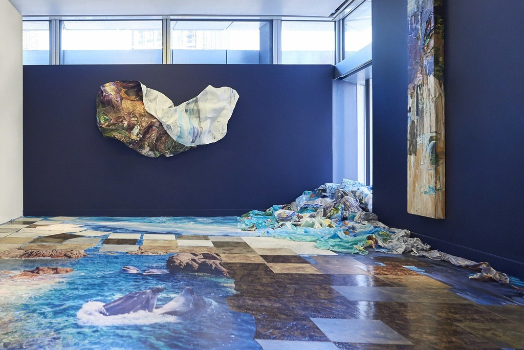 Installation view of 'Fellow Focus Camille Hoffman'