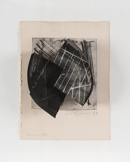 , 'Construction (Plate 552),' 1983, Rosenberg & Co.