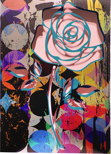 , 'Crush- Rose on pink,' 2016, FP Contemporary