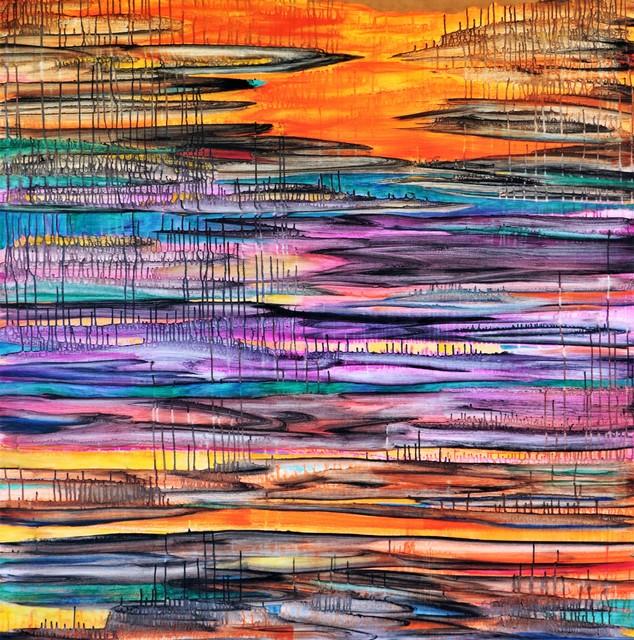 Javier David Ramos, 'Región de incertidumbre II', 2018, Painting, Acrylic on canvas, Biaggi & Faure Fine Art