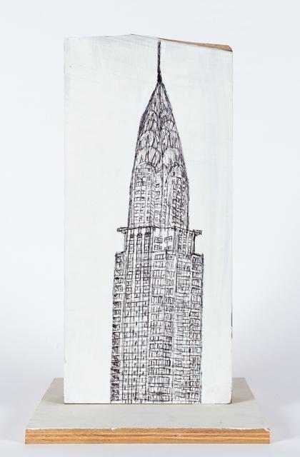 , 'Empire State Building,' 2015, Creativity Explored
