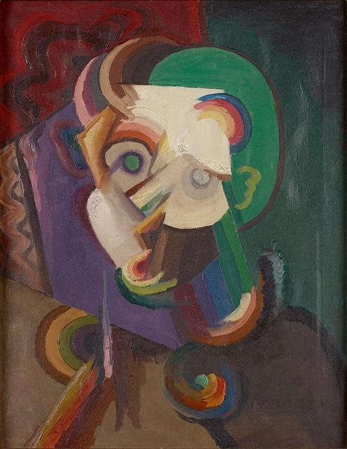 , 'Kopf III (Maske),' 1916, Belvedere 21