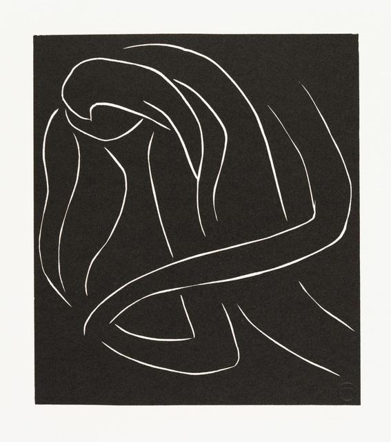 Henri Matisse, '. . . ET SE COUCHER CHAQUE SOIR DANS SON MALHEUR . . . ', 1944, Christopher-Clark Fine Art