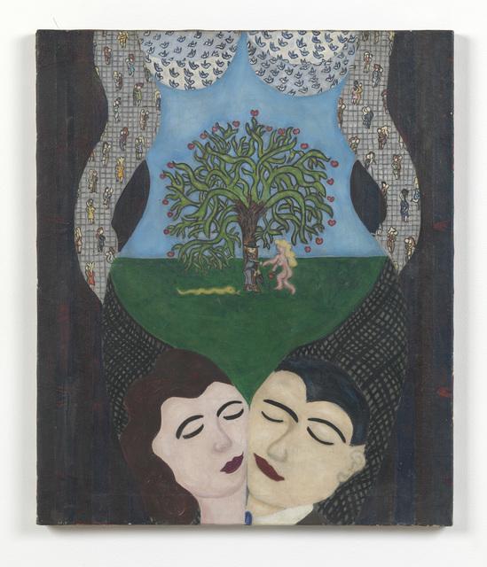 William Nelson Copley, 'Rideaux de Pommes', 1957, Sadie Coles HQ
