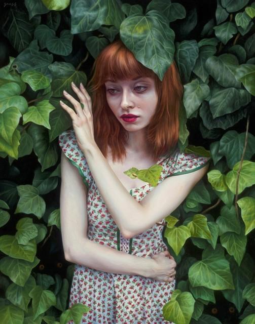 Alex Gross, 'Ivy', 2019, Laurent Marthaler Contemporary