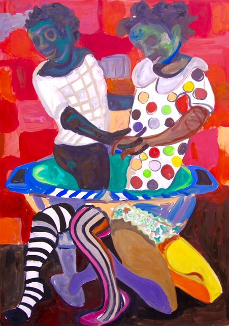 , 'Cooking in the same pot,' 2016, First Floor Gallery Harare