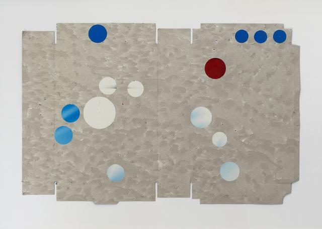 , 'Carton gratté (Mars),' 2014, Galerie Laurence Bernard