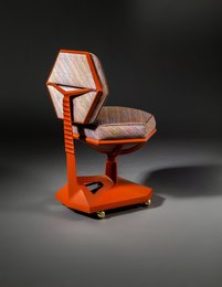 Desk Chair from Price Tower, Bartlesville, Oklahoma
