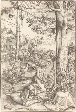 Lucas Cranach the Elder, 'The Penitence of Saint Jerome', 1509, National Gallery of Art, Washington, D.C.