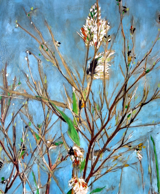 , 'Blossom,' 2017, Massey Lyuben Gallery