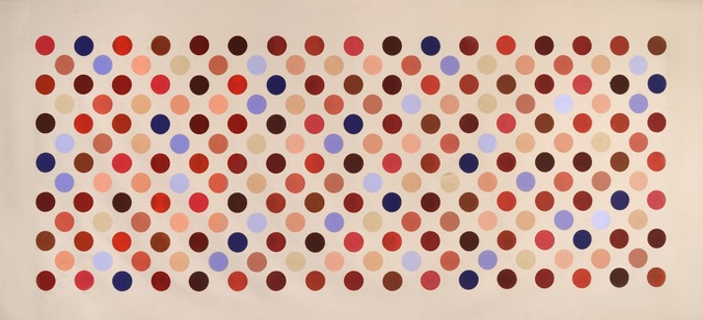 "Thomas Downing, '""Grid Seventeen"" ', 1970, Osuna Art & Antiques"