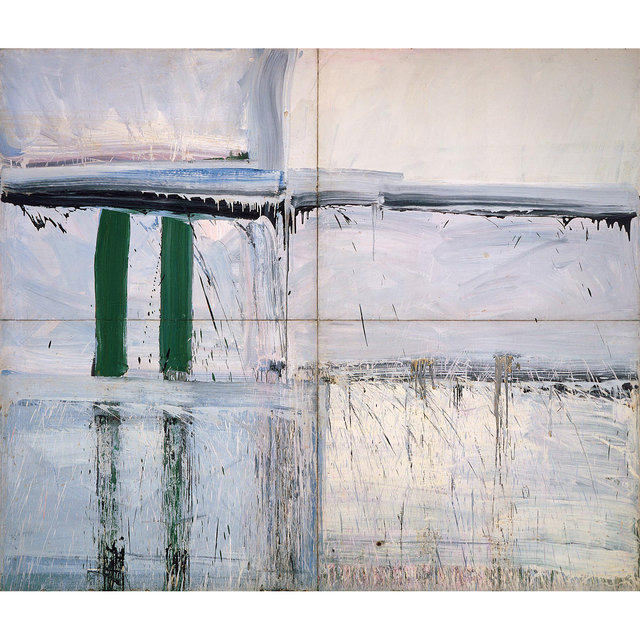 , 'Four Panel Green—Big Green,' 1956, Allan Stone Projects
