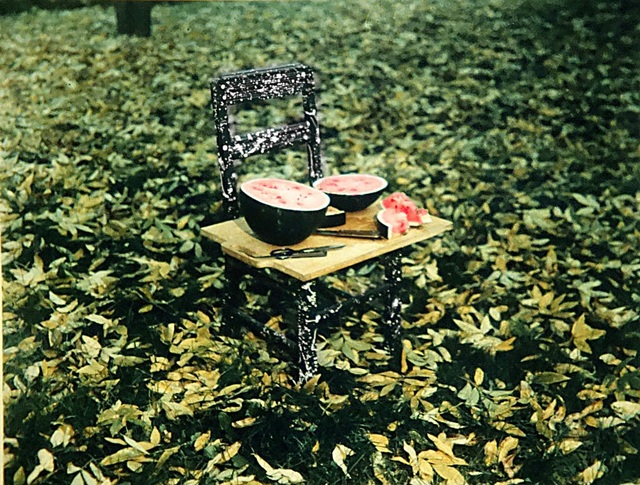 , 'Watermelon and Chair, W. Suffield, Connecticut,' 1982, Aperture Foundation