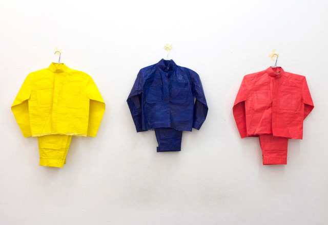 Alexandra Hopf, 'Bread Sugar Oil (after Red Yellow Blue by A. Rodchenko)', 2013, Cruise&Callas