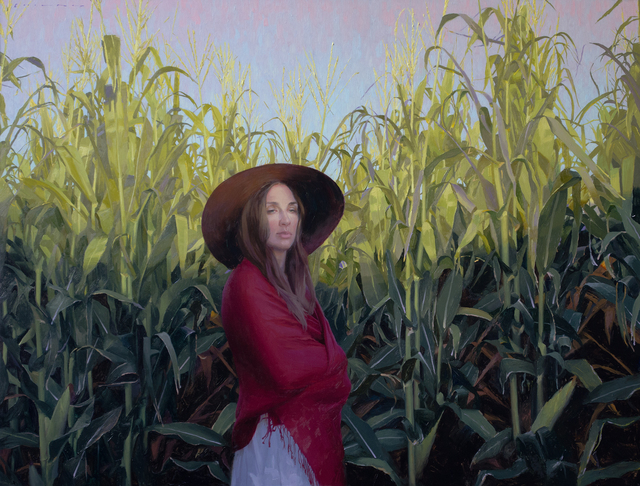 Casey Childs, 'Twilight Harvest ', 2020, Painting, Oil on linen, Gallery 1261