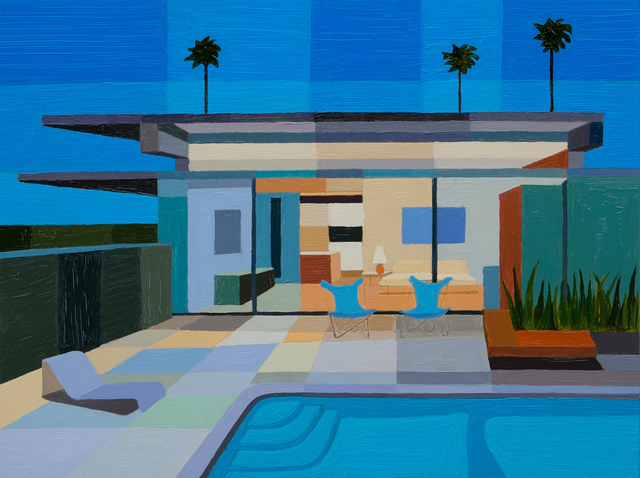 , 'Donald Wexler Steel House, Palm Springs,' 2016, Sue Greenwood Fine Art