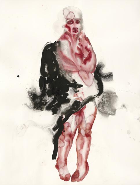 , 'Helene Froument in a FurRobe,' 2018, Aki Gallery