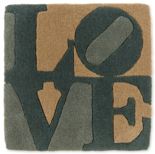 After Robert Indiana, 'Love Rug', Forum Auctions