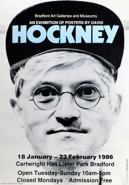 David Hockney, 'An Exhibition of Posters by David Hockney (Bradford Art Galleries & Musuems)', 1986, Roseberys
