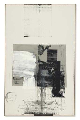 Robert Rauschenberg, 'Calendar', Oil and silkscreen ink on canvas, Christie's