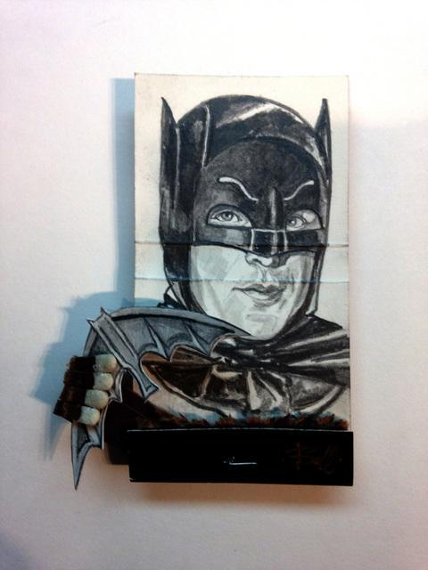matchbox artists, 'Batman', 2015, Muriel Guépin Gallery