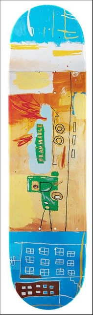 , 'Gas Truck Skate Board  (Estate of Jean-Michel Basquiat in Collaboration with Artestar),' 2017, Alpha 137 Gallery