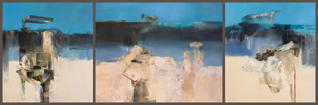 , 'Silence (Triptych),' 2014, Léna & Roselli Gallery