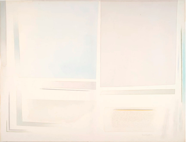 , 'Arioso con grande celeste,' 2008, rosenfeld porcini