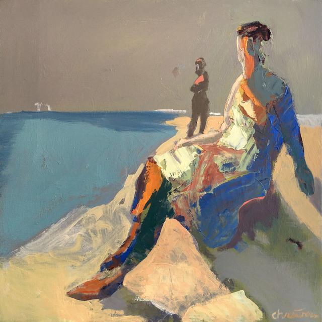 , 'Seacliff Figure,' 2014, Sue Greenwood Fine Art