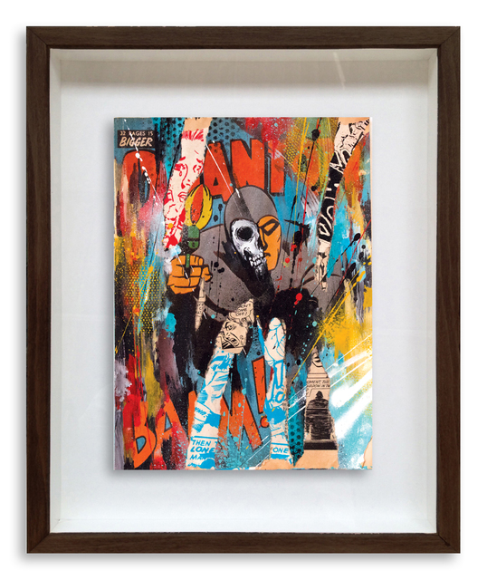 , 'Rise & Fall Phantom Comic 8,' 2015, StolenSpace Gallery