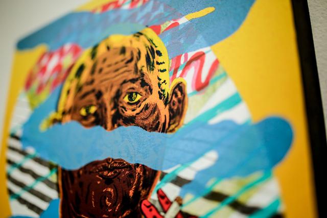 NDA, 'Archetype', 2016, Painting, Mixed media on wood panel, Paradigm Gallery + Studio