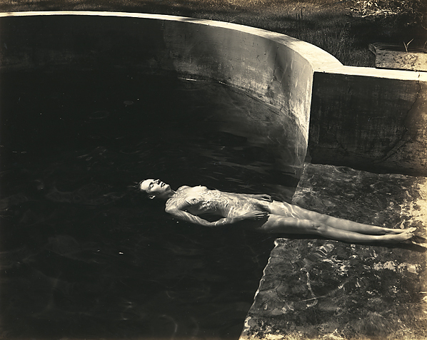 , 'Nude Floating (Charis),' 1939, Scott Nichols Gallery