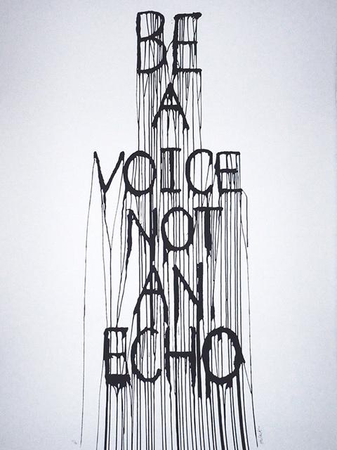 Hijack, 'Be A Voice...', 2015, Marcel Katz Art