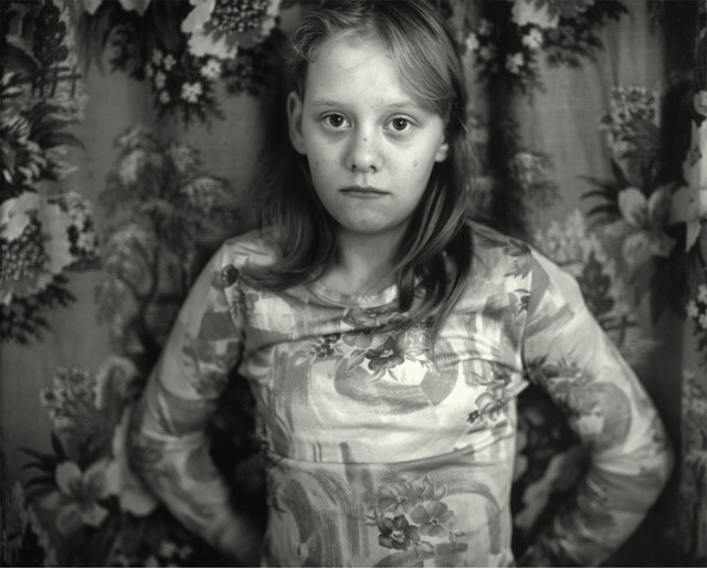 Sally Mann, 'Cindy in Front of the Curtain', 1983-1985, Photography, Silver gelatin print, Gagosian