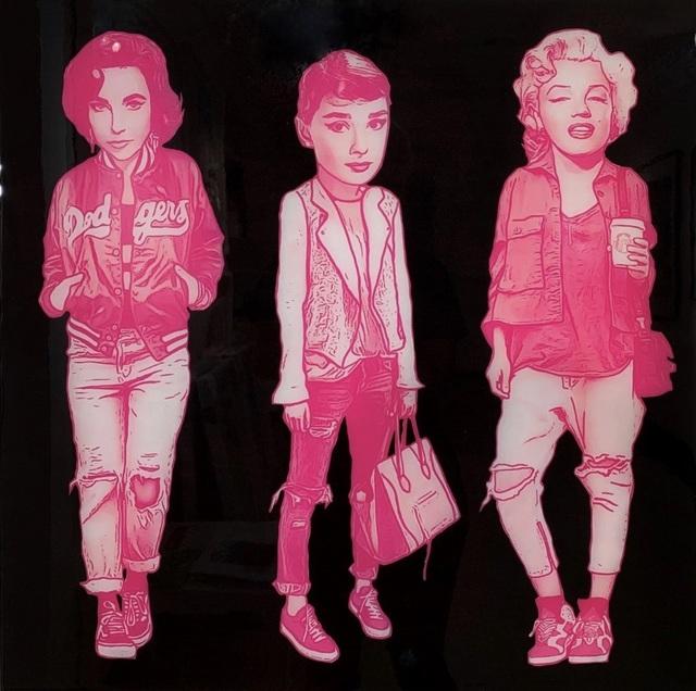 The Producer BDB, 'Liz Taylor, Audrey Hepburn, and Marilyn Monroe', 2019, Mouche Gallery