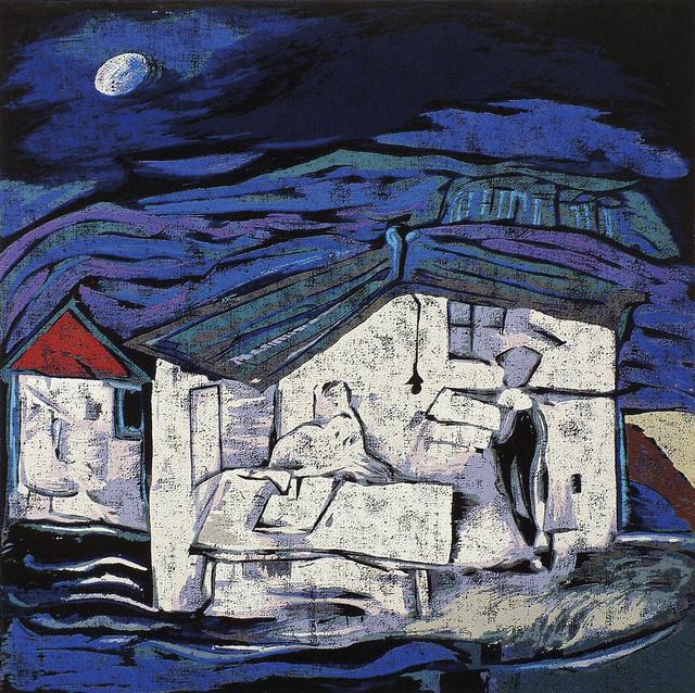 , 'Under a moonlit night,' 2001, Katrine Levin Galleries