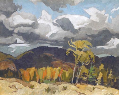 , 'OCTOBER STORM CLOUDS, GRENVILLE, QUEBEC,' 1969, Roberts Gallery Ltd.