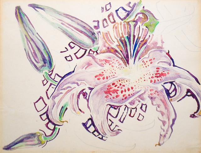 Walter Anderson, 'Pink Tiger Lily', Amanda Winstead Fine Art