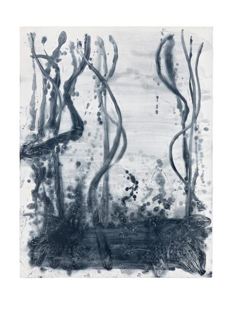 , 'Indigo Forest 20,' 2015, STPI