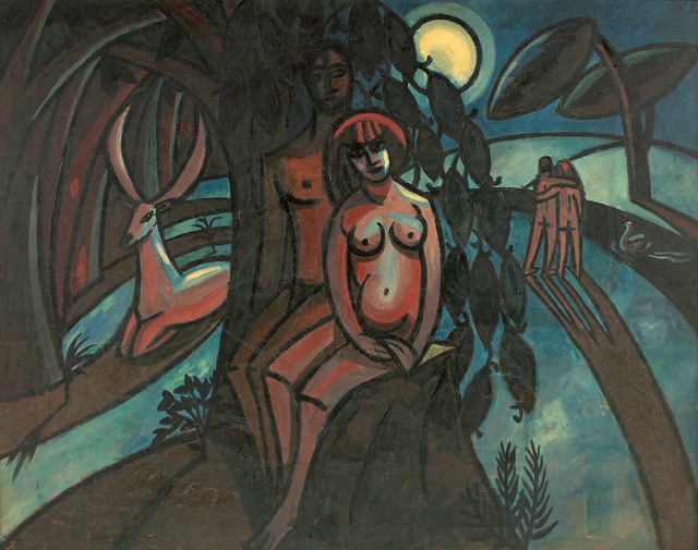 , 'The Paradise,' 1919, Belvedere Museum
