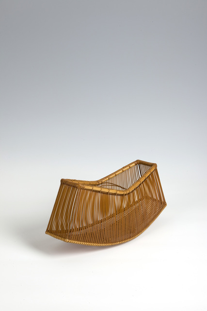 , 'Bamboo Basket (T-3455),' Showa era (1926-89) 1980s, Erik Thomsen