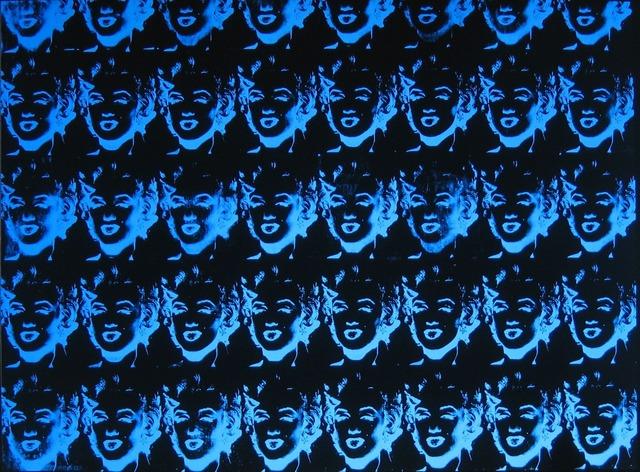 Andy Warhol, 'Forty Blue Marilyns (Reversal Series)', 1979-1980, Joseph K. Levene Fine Art, Ltd.