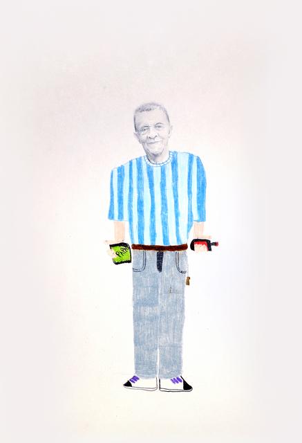 , 'Papas,' 2018, Galerie C.O.A