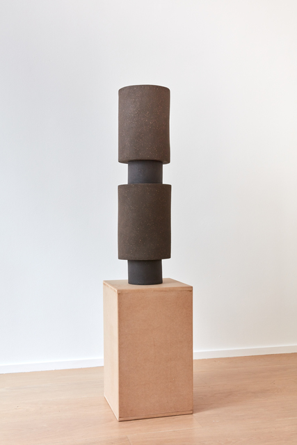 , 'Brown Stack n°2,' 2019, MLF | MARIE-LAURE FLEISCH